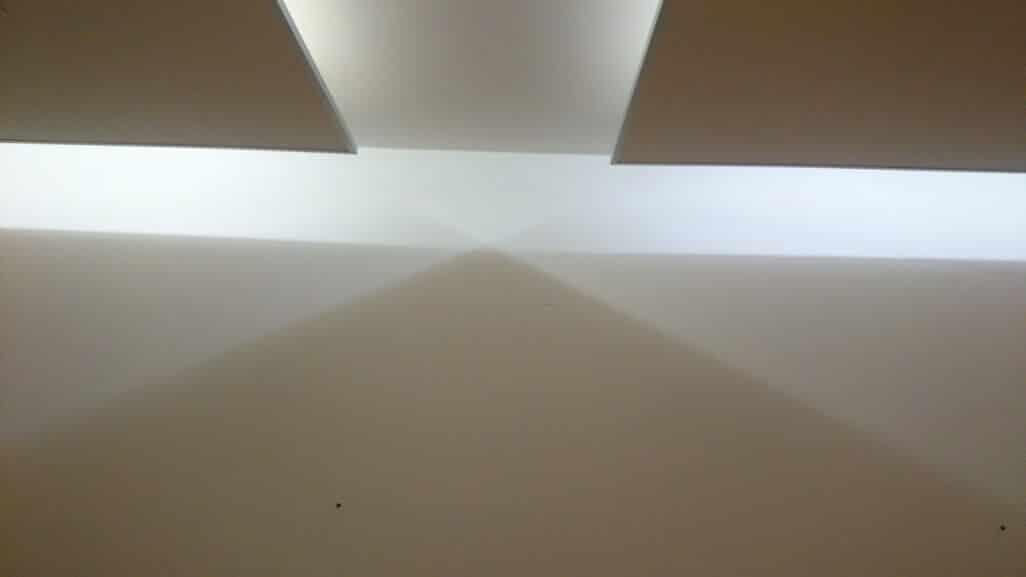 Osvětlení v kanceláři
