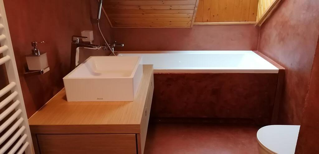 Rekonstrukce koupelny Klánovice