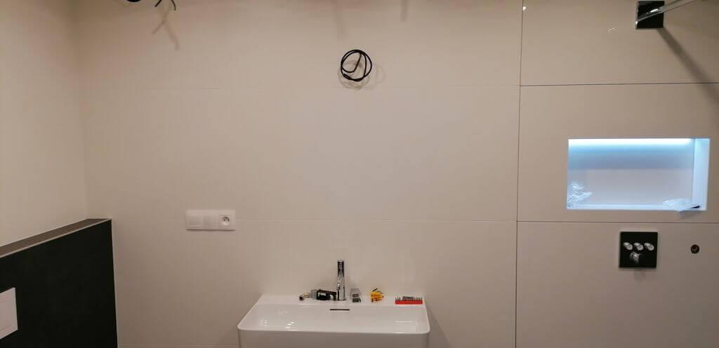 Rekonstrukce koupelny Praha 6