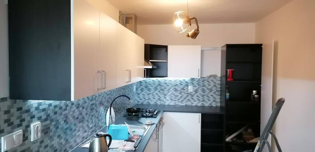 Rekonstrukce bytového jádra a kuchyně Praha 4